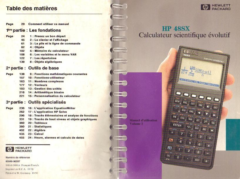 hp 48sx ordinateurs de poche   calculatrices casio pb fx cfx pockets hp 48sx hp 48sx hp hp 15c manual download hp 15c user manual pdf